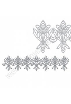 Sugar Dress Blumen 40x30cm
