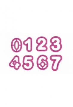 Zahlen 0-9  9teilig