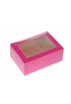 12 Cupcakes Schachtel pink MINI 10er Set