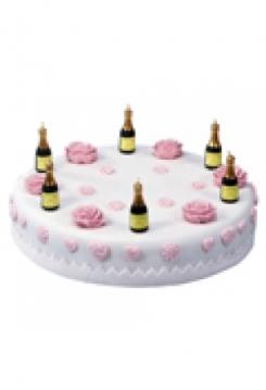 Kerzen Set Champagner 6 Stück