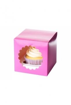 01 Cupcakes Schachtel 05er Set Pink