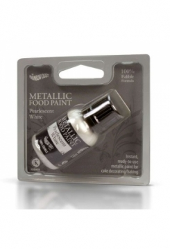 Metallic Pearlescent White 25ml