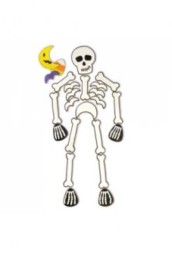 Skelett 6er Set