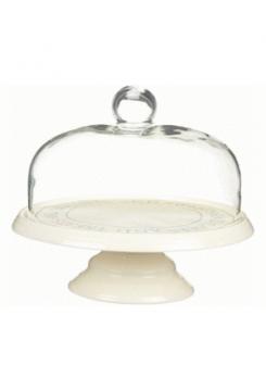 Tortenständer mit Glashaube 26cm