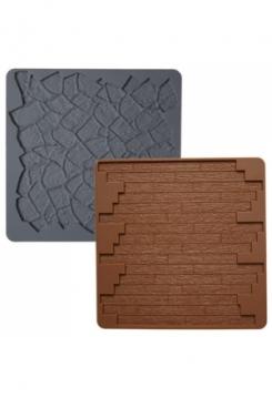 Holz und Mauer Matte