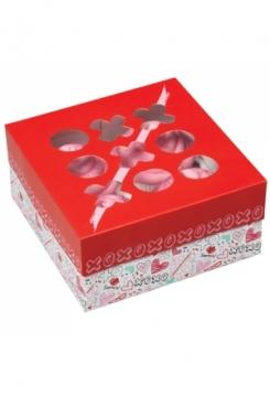 Muffinbox 4er Love Set 3Stk.
