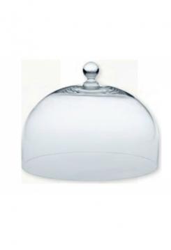Glashaube zu Tortenplatte  Keramik 22cm