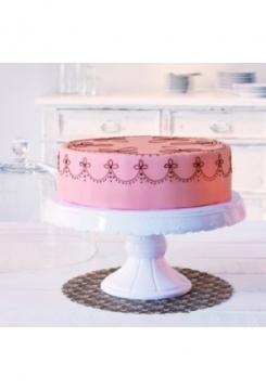 Glashaube zu Tortenplatte  Keramik 30cm