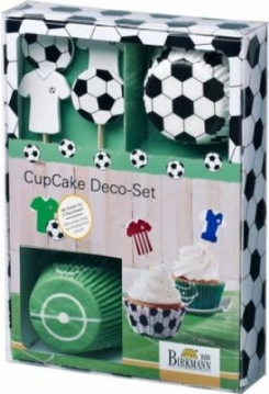 CupCake Deco-Set Kick it