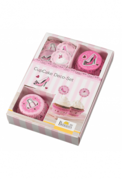 CupCake Deco-Set Lady