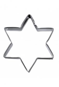 Stern 6eckig 10cm