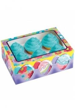 06 Cupcakes Schachtel Ostern 3er Set