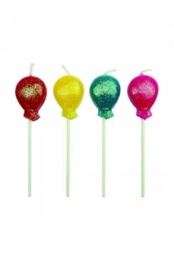 Ballon Kerzen Set