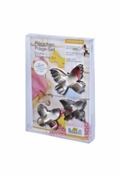 Präge Set Schmetterling 5 teilig