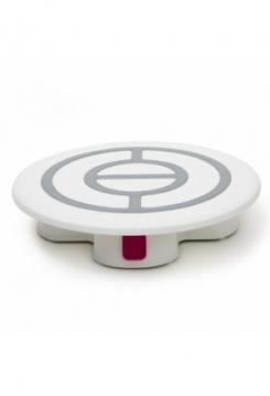 Drehbare Tortenplatte mit STOP Knopf