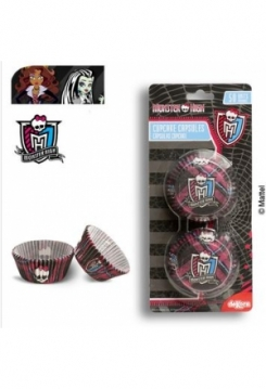 Monster High Muffin 50 Stk.