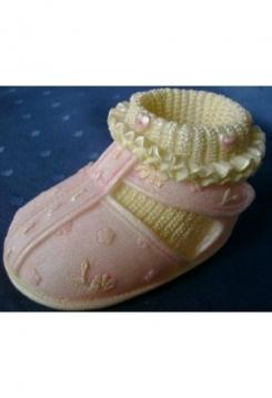 Babyschuh rosa