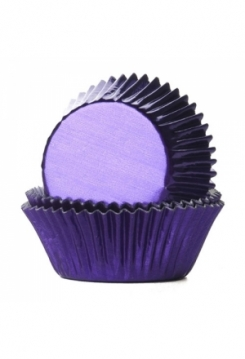 Muffin GLANZ purple Maxi 30Stk.