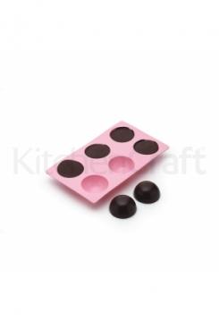 Halbkugeln 6 Stück pink