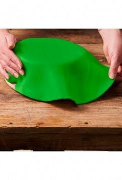 Fondant-Decke grasgrün 36cm