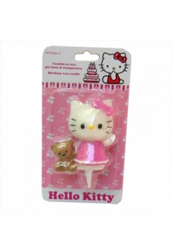 Hello Kitty mit Bärli Kerze