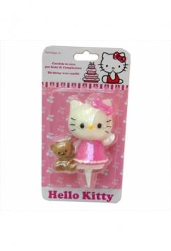 Hello Kitty mit Bärli Kerze