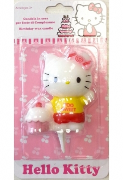 Hello Kitty mit Muffin Kerze