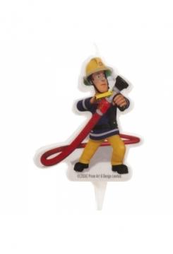 Kerze Feuerwehrmann SAM