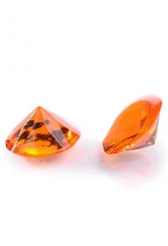 Diamanten orange 20Stk.