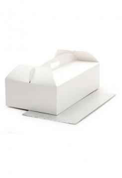 Tortenkarton 31x16x12cm mit Platte