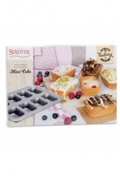 Mini Cake silber 38,5x27,5cm