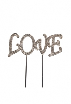 Cake Topper Diamant Love