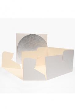 Tortenschachtel 25x25x15cm/3mm rund