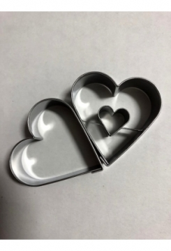 Linzer Herz 2 teilig 4,5cm