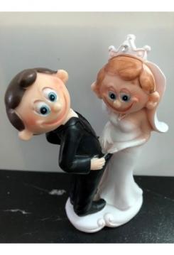 Kuck mal Hochzeitspaar