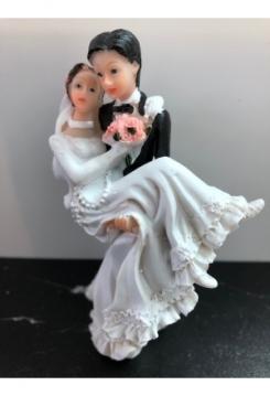 Braut wird getragen 11,5x6cm