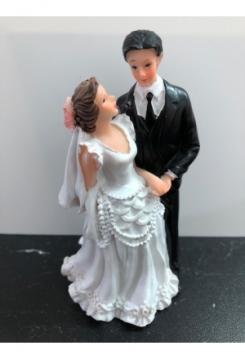 Braut mit Perlen 11,5x6cm