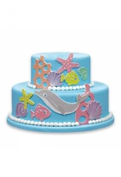 Kuchen Tattoo Ozean