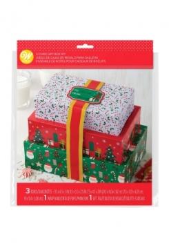 Guezli Schachteln 3 Stück mit Bändern