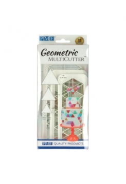 Geometric Multicutter Triangle 3er Set