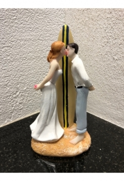 Surfer Brautpaar