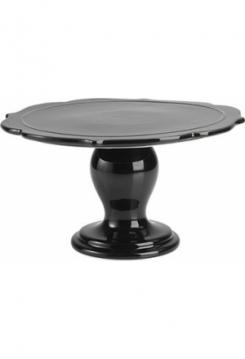Tortenplatte Avantgarde schwarz 25cm