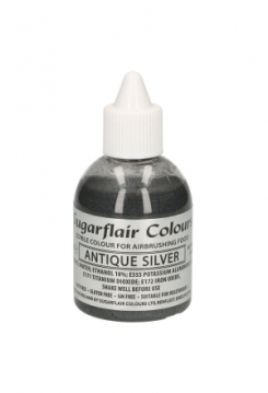 Airbrush Glitter Antique silver 60ml