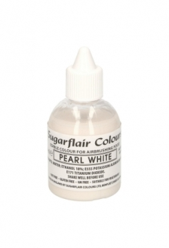 Airbrush Glitter Pearl White 60ml