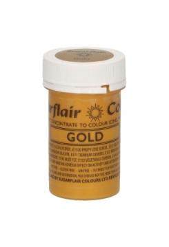 Speisefarbe Paste Satin Gold 25g