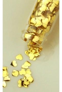 Mini-Flacon Herz gold