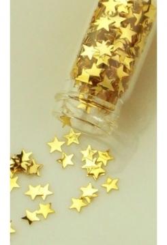 Mini-Flacon Stern gold