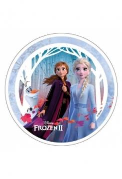 Frozen II Elsa & Anna mit Olaf
