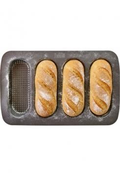 Baguetteblech Mini 4er