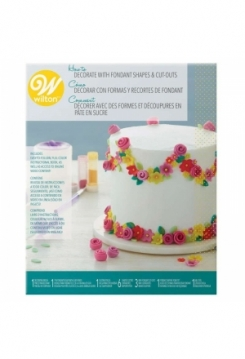 Decorate with Fondant Shapes& Cut-Outs